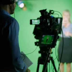 Green screen video services