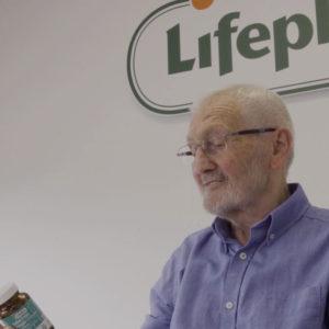 Man looking at Lifeplan products